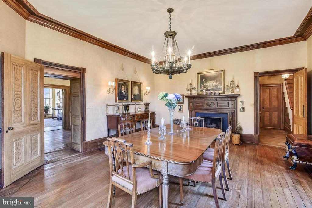 Dining room - 22956 CARTERS FARM LN, MIDDLEBURG