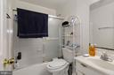Full bath in Basement - 12529 STRATFORD GARDEN DR, SILVER SPRING