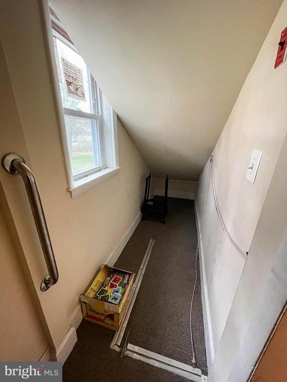 Storage area under stairwell - 7708 BROOKLYN BRIDGE RD, LAUREL