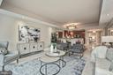 Living Room - 1881 N NASH ST #509, ARLINGTON