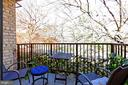 Your private balcony in the treetops - 403 N BEAUREGARD ST #304, ALEXANDRIA