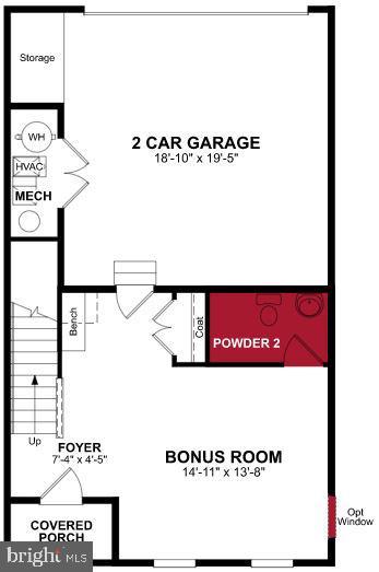 Lower Level Floor Plan - 17700 LONGSPUR COVE LN, DUMFRIES