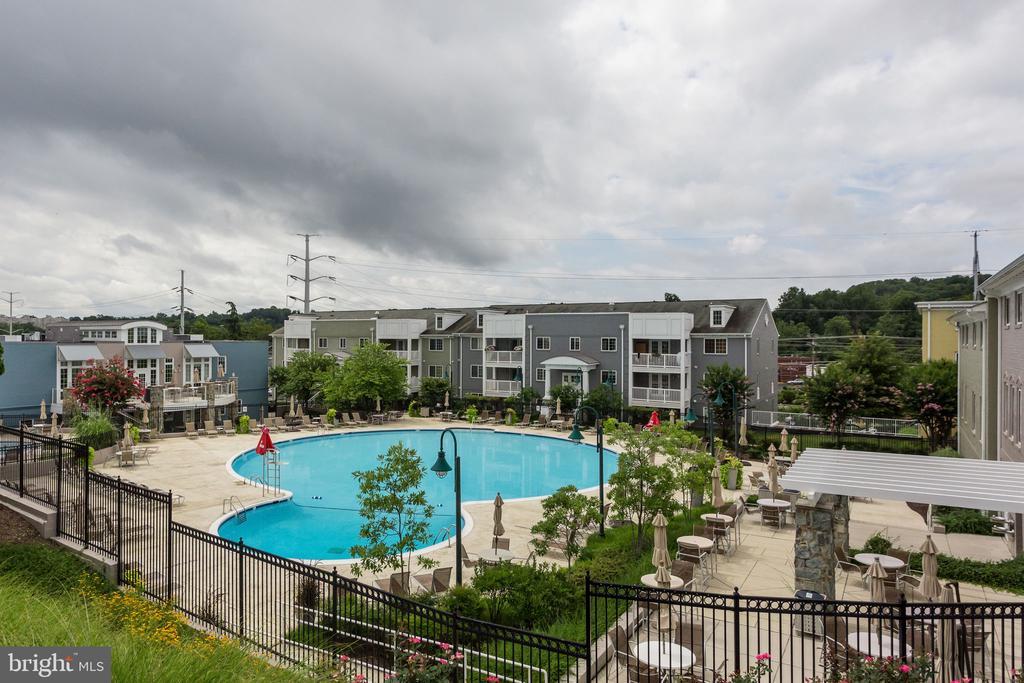 Community Pool - 4133 S FOUR MILE RUN DR #D, ARLINGTON