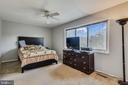 Master bedroom with full bathroom - 333 RENEAU WAY, HERNDON