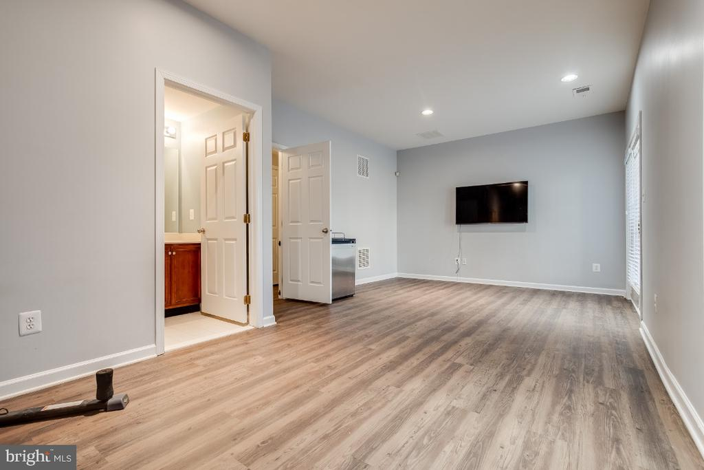 Lower Level Rec Room with Luxury Vinly Plank Floor - 20087 NORTHVILLE HILLS TER, ASHBURN