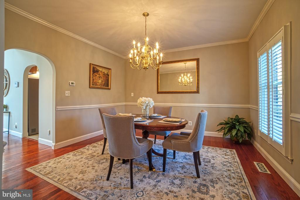 Formal Dining - 18914 SHELBURNE GLEBE RD, LEESBURG
