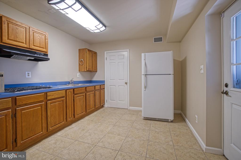 Lower Level Full Kitchen - 18914 SHELBURNE GLEBE RD, LEESBURG