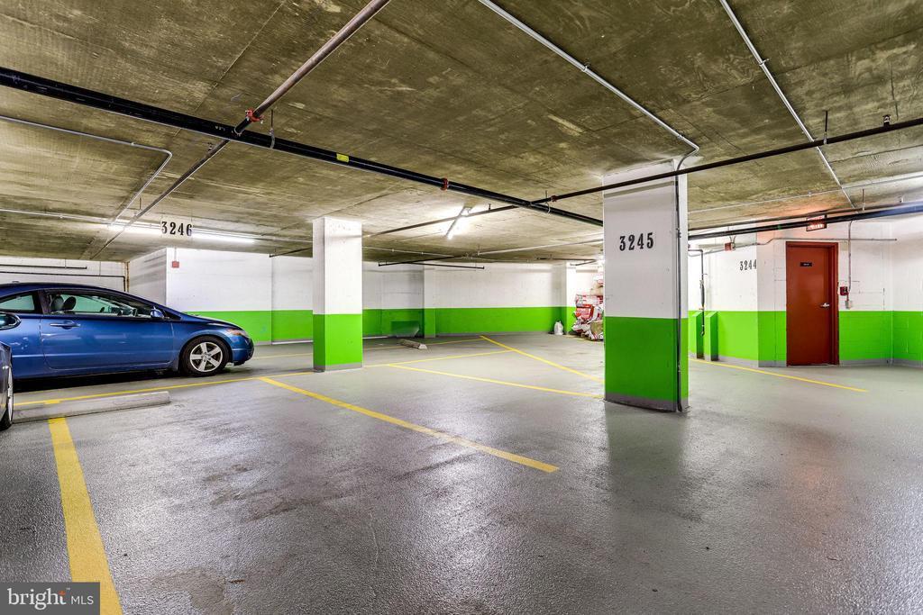 2 Reserved Underground Parking Spaces - 1276 N WAYNE ST #320, ARLINGTON