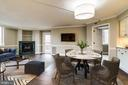 Virtually Staged Dining Room - 1276 N WAYNE ST #320, ARLINGTON
