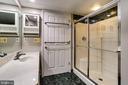 Bathroom Two - New Recessed Lighting - 1276 N WAYNE ST #320, ARLINGTON