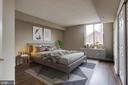 Virtually Staged Bedroom Two - 1276 N WAYNE ST #320, ARLINGTON