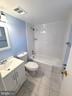 Basement's full bathroom - 6021 AMHERST AVE, SPRINGFIELD