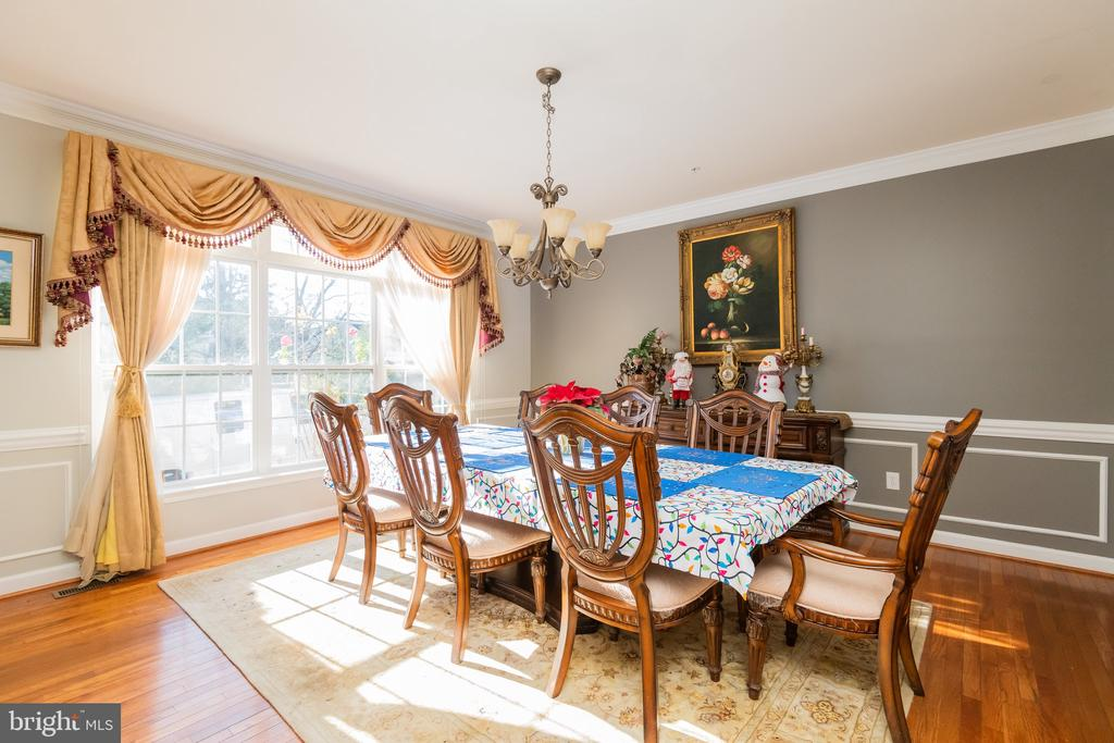 Formal dining room - 14215 PUNCH ST, SILVER SPRING