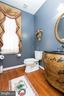 Main level half bath - 14215 PUNCH ST, SILVER SPRING