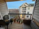 Balcony - 1581 SPRING GATE DR #5404, MCLEAN