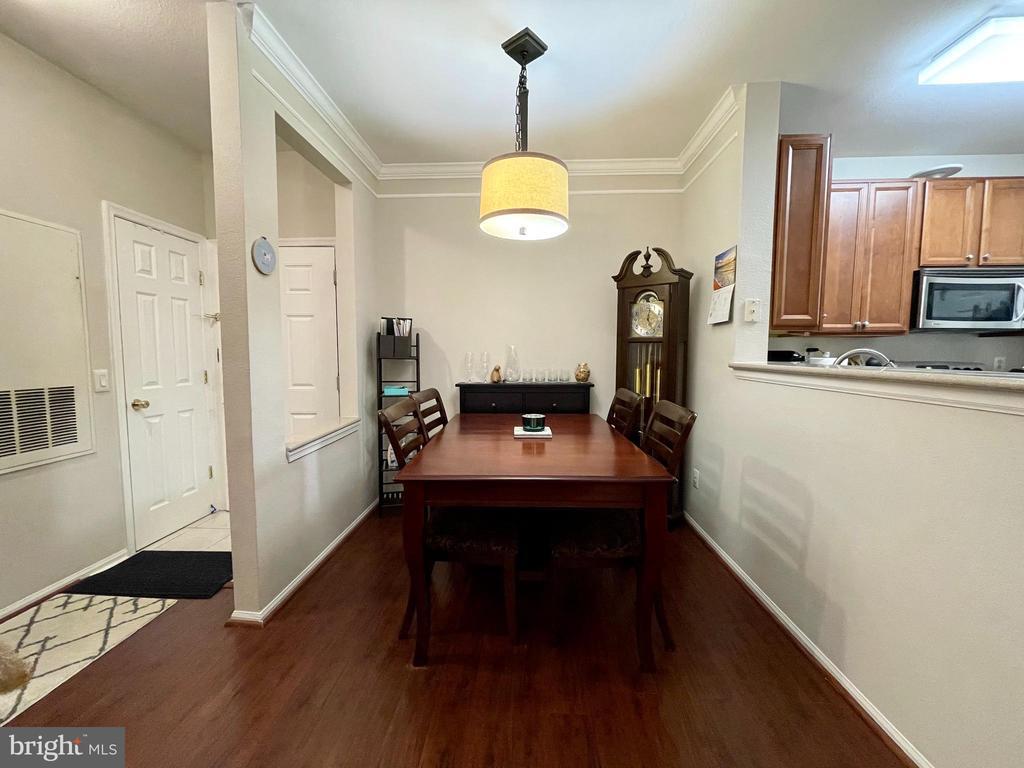 Dining Room - 1581 SPRING GATE DR #5404, MCLEAN