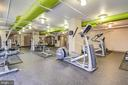 Gym Overview 2 - 1021 N GARFIELD ST #828, ARLINGTON
