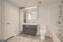 2nd Master Spa Bath w/Double Door Cabinets - 1021 N GARFIELD ST #828, ARLINGTON