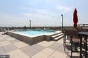 Roof Top Pool - 1021 N GARFIELD ST #828, ARLINGTON