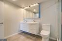 Master Bath/Double Sink - 1021 N GARFIELD ST #828, ARLINGTON
