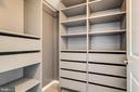 Custom made closet off 2nd MasterBD - 1021 N GARFIELD ST #828, ARLINGTON