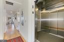 Direct elevator access - 1700 CLARENDON BLVD #158, ARLINGTON
