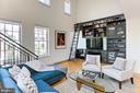 Living room - 1700 CLARENDON BLVD #158, ARLINGTON