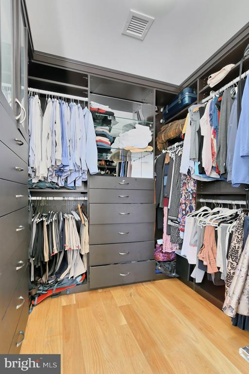 Walk in closet - 1700 CLARENDON BLVD #158, ARLINGTON