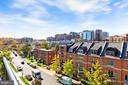 View from terrace - 1700 CLARENDON BLVD #158, ARLINGTON