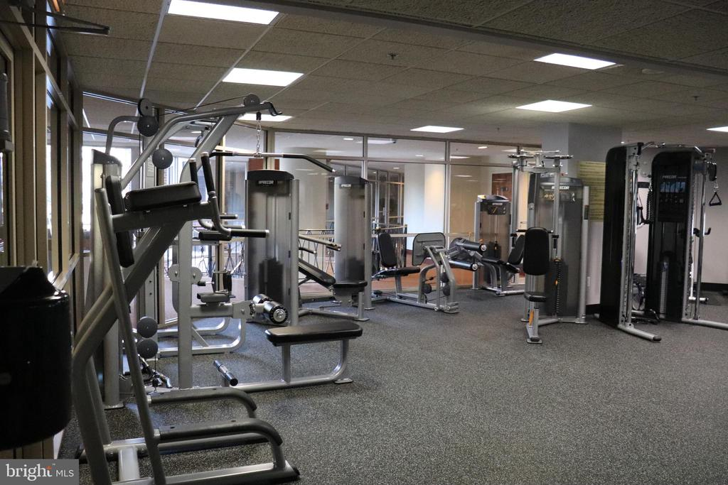 Gym - The Williamsburg - 1276 N WAYNE ST #320, ARLINGTON