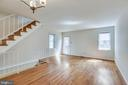 Main living room - exit to rear of home - 1185 N VERNON ST, ARLINGTON