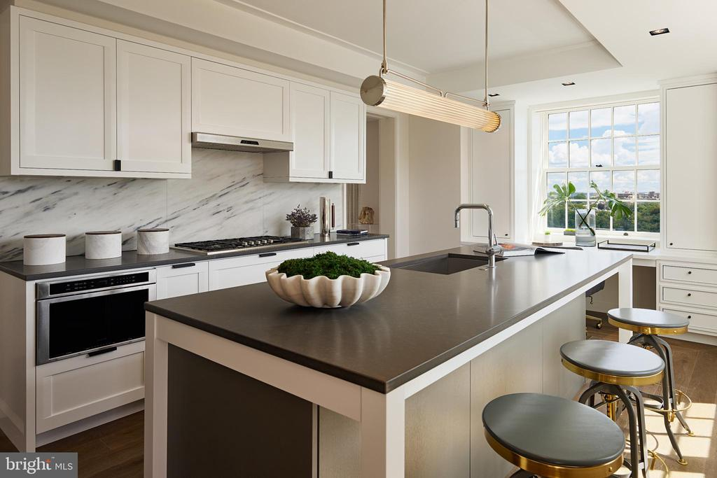 Well appointed Kitchen - 2660 CONNECTICUT AVE NW #6C, WASHINGTON