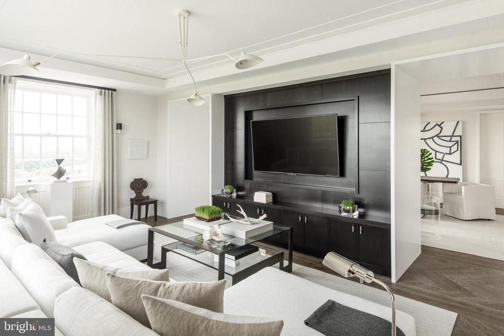 Living Room - 2660 CONNECTICUT AVE NW #6C, WASHINGTON