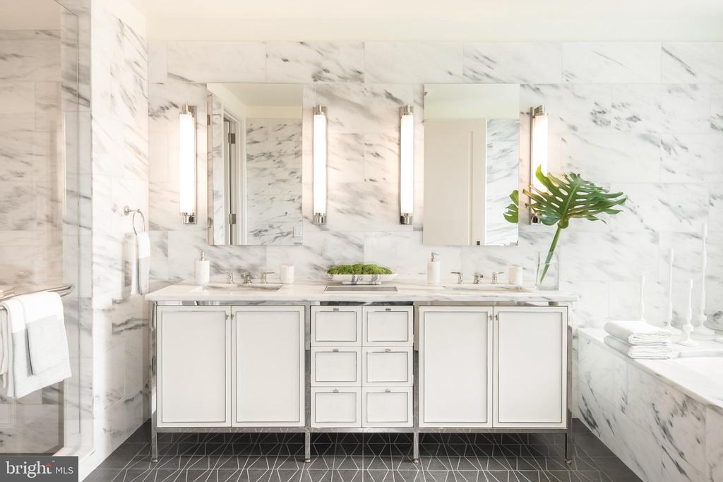 Primary Bathroom - 2660 CONNECTICUT AVE NW #6C, WASHINGTON
