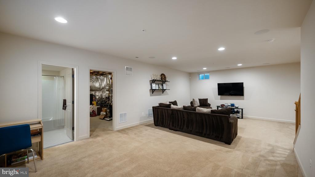 Basement Rec room - 13805 TRIBUTE PKWY, CLARKSBURG