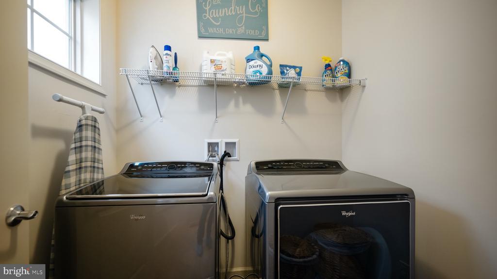 Upper Level Laundry - 13805 TRIBUTE PKWY, CLARKSBURG