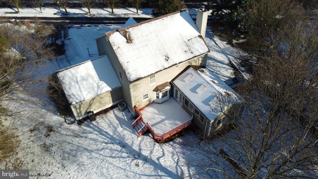 Aerial View - 1118 SUGAR MAPLE LN, HERNDON