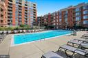 Building Amenities - Pool - 3650 S GLEBE RD #464, ARLINGTON