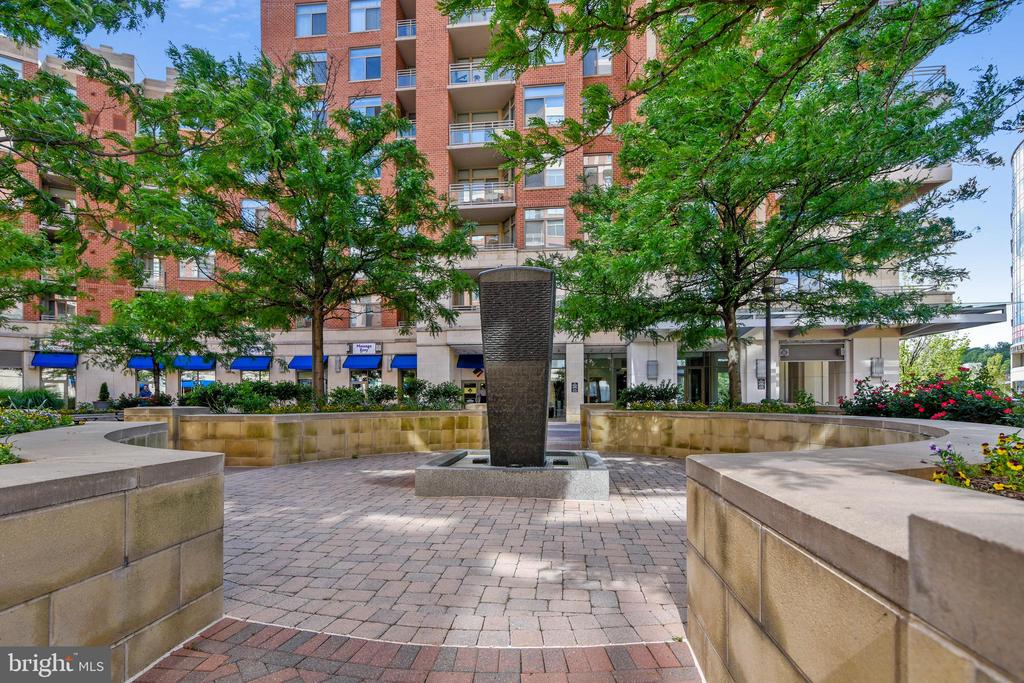 Building Amenities - Fountain - 3650 S GLEBE RD #464, ARLINGTON