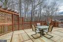 Large deck - 49 CHRISTOPHER WAY, STAFFORD
