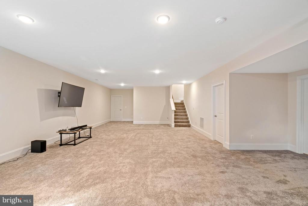 Storage and utility space on the right side - 6541 RUNNING CEDAR LN, MANASSAS