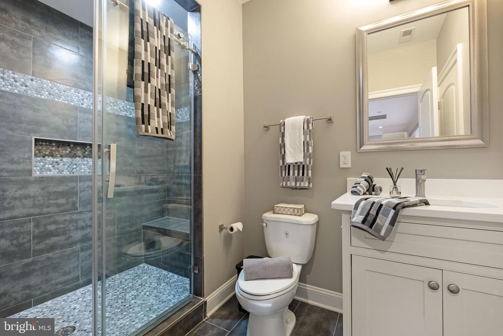 4th Luxury Bathroom w/dreamy tile work! - 10713 ROSEHAVEN ST, FAIRFAX
