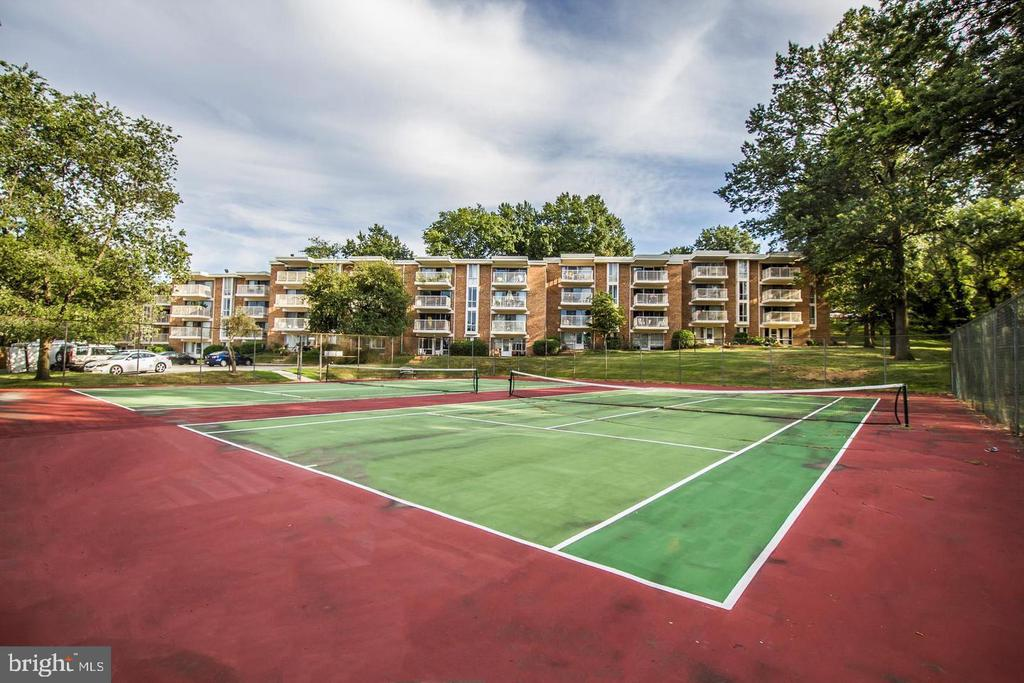 Community Tennis Court - 2605 HUNTINGTON AVE #66, ALEXANDRIA