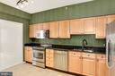 Lovely updated kitchen with Stainless steel - 19365 CYPRESS RIDGE TER #703, LEESBURG