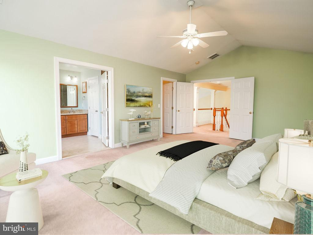 Photo shows off the space in the primary bedrm - 13057 CHAMPLAIN DR, MANASSAS