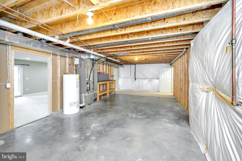 Unfinished basement area - 4309 LAKEVIEW PKWY, LOCUST GROVE
