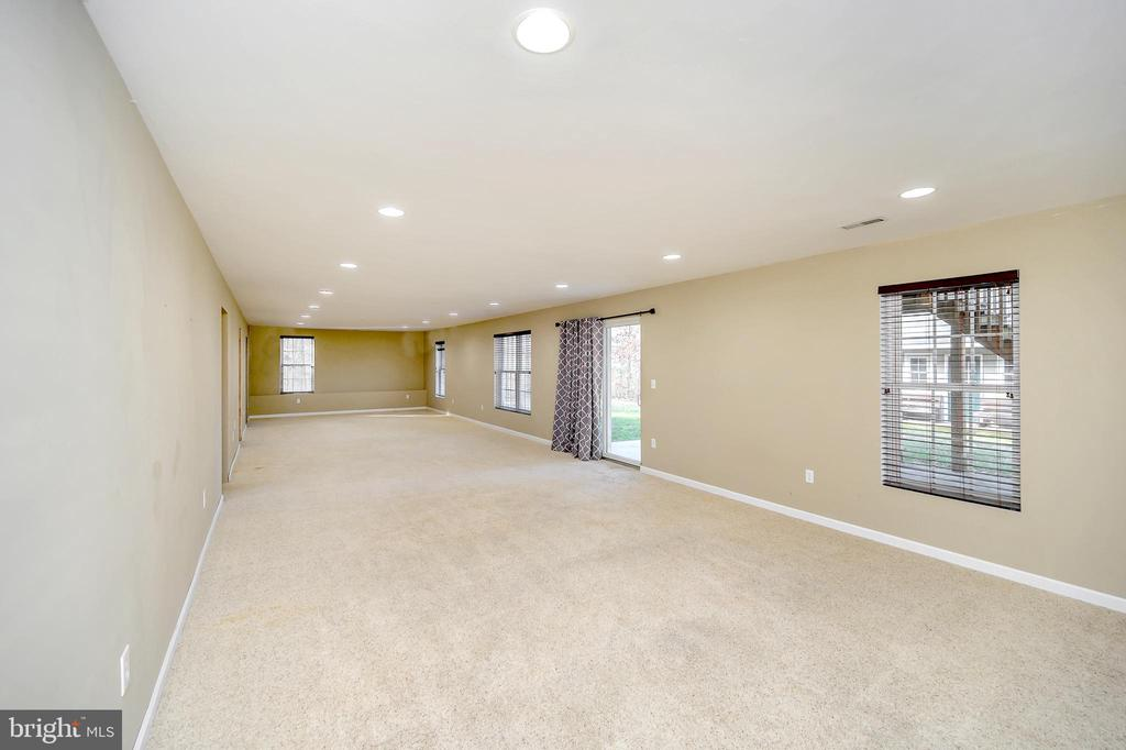 Walk out Basement Recreation Room - 4309 LAKEVIEW PKWY, LOCUST GROVE