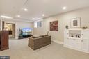 Lower Level Living Room - 9610 DEWITT DR #PH101, SILVER SPRING