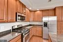 Kitchen with stainless steel appliances - 42453 PROPHECY TER, STERLING