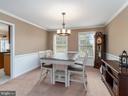 Formal dining room - 20 BRUSH EVERARD CT, STAFFORD